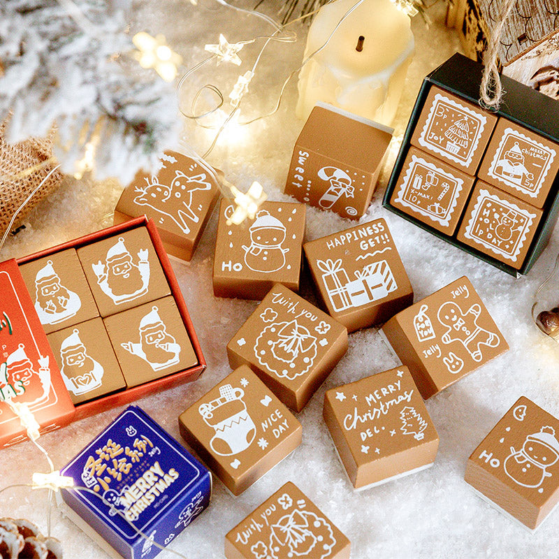 Christmas Decoration Stamps
