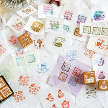 Load image into Gallery viewer, Christmas Decoration Stamps