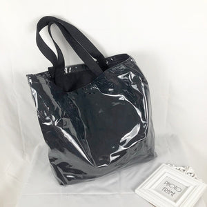 Oversize PVC Canvas Tote Bag