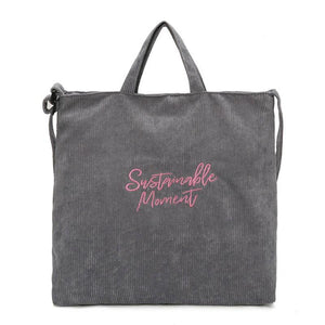 Sustainable Shoulder&Hand Tote Bag - 5 Color