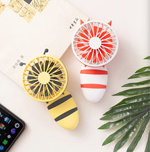 Load image into Gallery viewer, Cute Animal Handheld Folding Fan