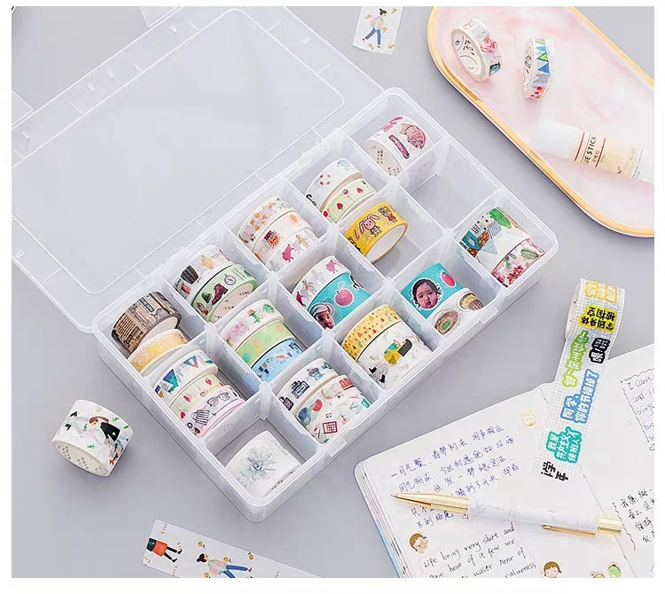 Washi Tape Gift Box with Organizer