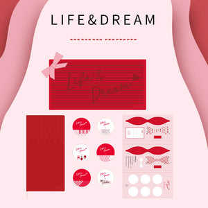 Life&Dream Notebook Gift Box