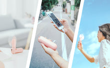 Load image into Gallery viewer, Cute Multi-function Handheld Mini Fan-Fan&PowerBank&Flashlight