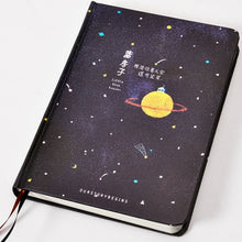 Load image into Gallery viewer, 'Our Story Begins' Planetary Collection Notebook -paperhouse