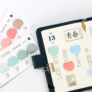 Colour Life Sticky Memos -6pcs -paperhouse