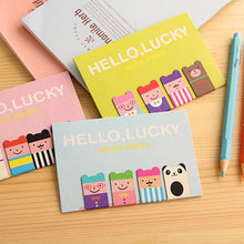Load image into Gallery viewer, Hello Lucky Magnetic Bookmarks - 4pcs