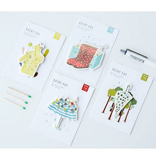 Load image into Gallery viewer, Rainy Day Sticky Notes-4pcs -paperhouse