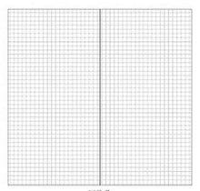 Load image into Gallery viewer, Midori Traveler's Notebook Refill - Dot Blank Grid Graph Ruled -paperhouse