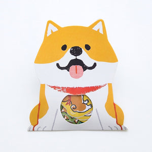 Designed Cute Shiba Inu Dog Washi Sticker -paperhouse