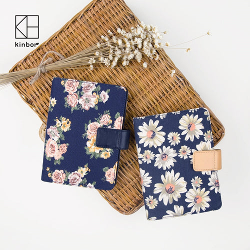 Canvas Flower Daisy Notebook - A6