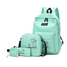 Load image into Gallery viewer, Cute Cat Backpack - 4pcs/Set