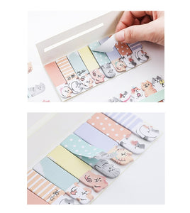 Happy Kitty Sticky Notes - 4pcs -paperhouse