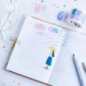Clouds and Rain Washi Tape