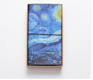 Van Gogh Leather Travel Planner -paperhouse