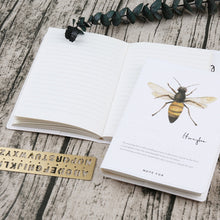 Load image into Gallery viewer, Insects Notebook - A6