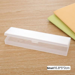 Simple Transparent Pencil Case