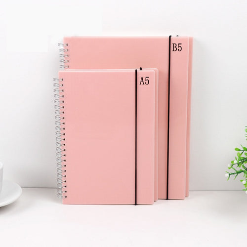 Blue & Pink Dotted Notebooks - A5&B5