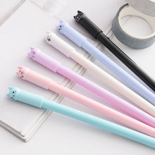 Load image into Gallery viewer, Kawaii Kitty Gel Pens - 6pcs