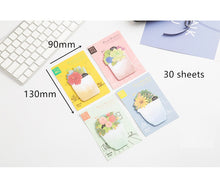 Load image into Gallery viewer, Flower Sunshine Sticky Notes-4pcs -paperhouse