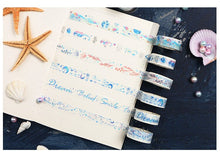 Load image into Gallery viewer, Ocean Star Washi Tape