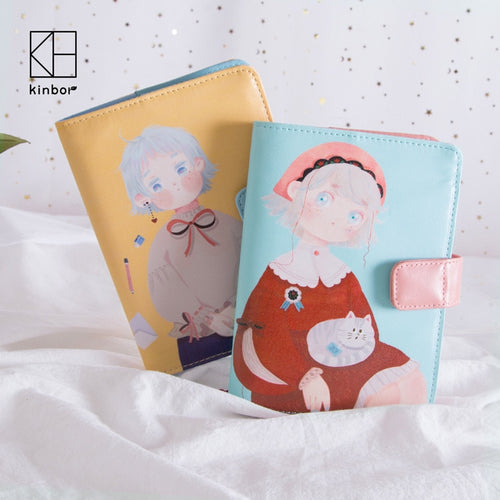 Cute Girls Notebook - A6
