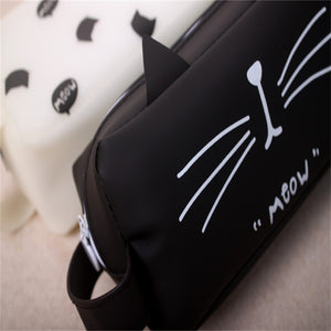 Black & White Kitty Pencil Case