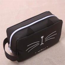 Load image into Gallery viewer, Black & White Kitty Pencil Case