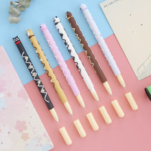 Load image into Gallery viewer, 0.5mm Cute Chocolate Animal Gel Pen-6 Pcs -paperhouse
