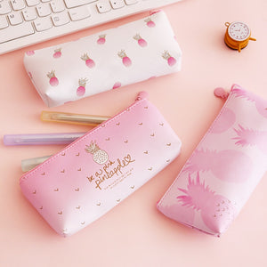Kawaii Pineapple Pencil Case