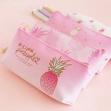 Load image into Gallery viewer, Kawaii Pineapple Pencil Case
