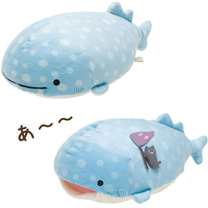 Kawaii Whale Plush Pillow