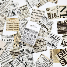 Load image into Gallery viewer, Creative Retro Newspaper Diary Stickers - 45pcs/lot