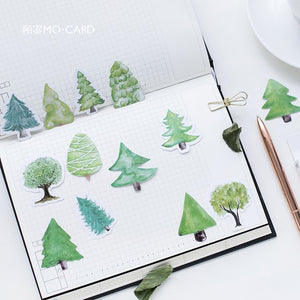 Cute Small Forest Paper Sticker-45 Pcs -paperhouse