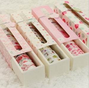 Sakura Flower Washi Tape - 9/10/12pcs/lot