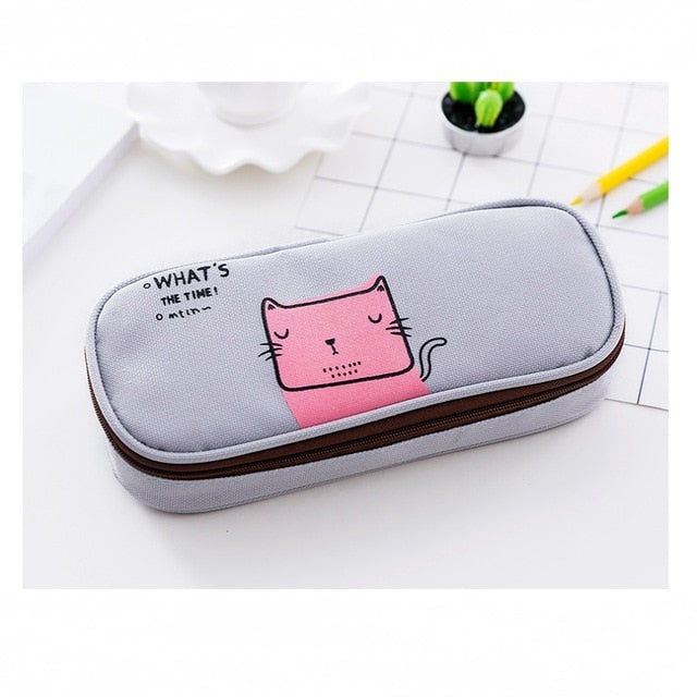 Squiggle Animal Pencil Case