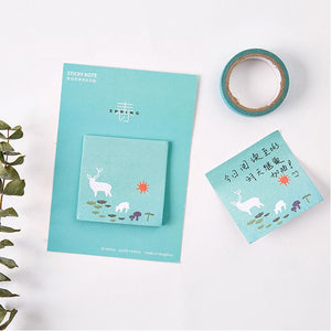 Four Season Sticky Note Set - 4pcs -paperhouse