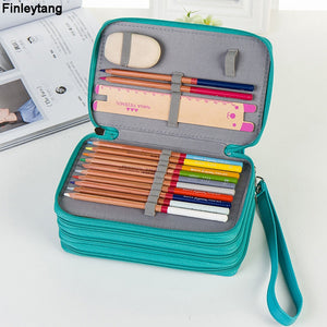 Large Capacity PU Pencil Case