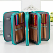 Load image into Gallery viewer, Large Capacity PU Pencil Case