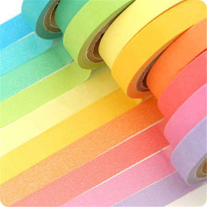 Rainbow Washi Tape - 10pcs
