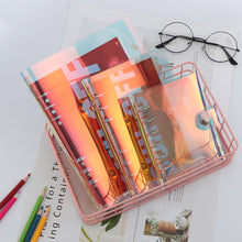 Load image into Gallery viewer, Aesthetic Hologram Notebook Binders - A5 + A6