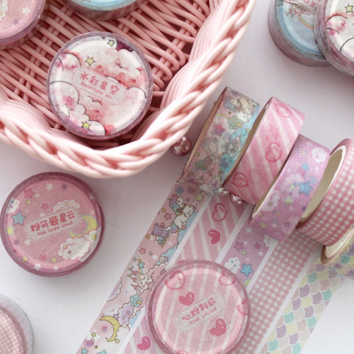 Kawaii Pink Washi Tape