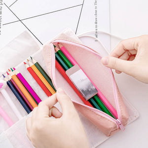 Unicorn Canvas Roll Up Pencil Case -paperhouse