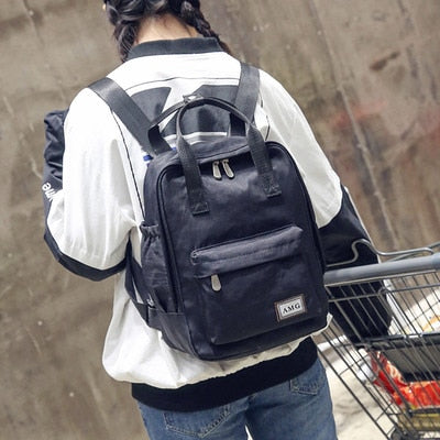 Harajuku Fashion Canvas Backpack -paperhouse