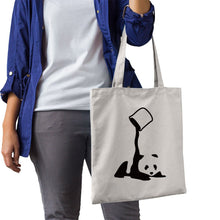 Load image into Gallery viewer, Cute Panda Canvas Bag