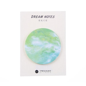 Dreams And Wishes Sticky Notes-8pcs -paperhouse