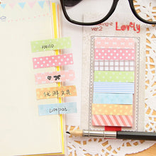 Load image into Gallery viewer, Kawaii Memo Pad Sticky Notes - 160 Pages