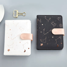 Load image into Gallery viewer, Rose Gold Constellations Planner - A6