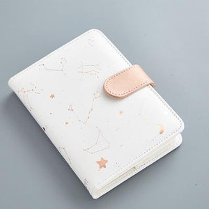 Rose Gold Constellations Planner - A6