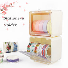 Load image into Gallery viewer, Japanese Stationery Holder Masking Tape Washi